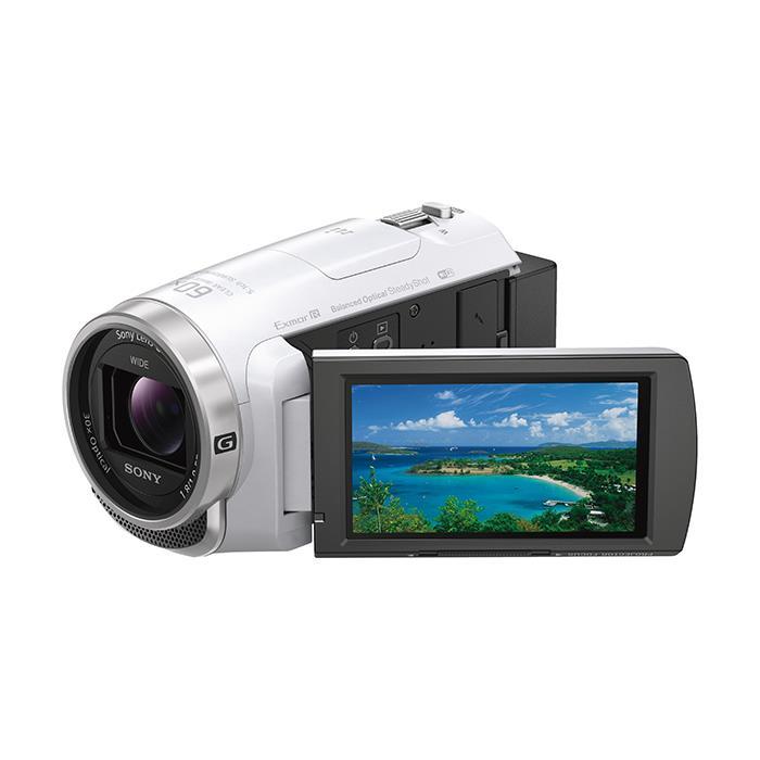 《新品》SONY (ソニー) デジタルHDビデオカメラレコーダー HDR-PJ680 W ホワイト[ ビデオカメラ ] 【KK9N0D18P】