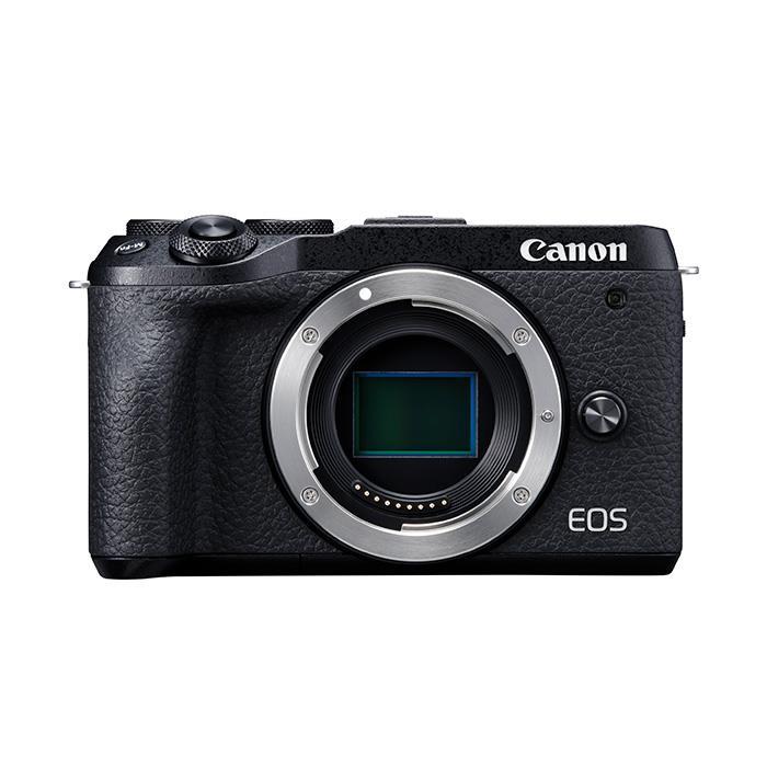 《新品》 Canon (キヤノン) EOS M6 Mark II ボディ ブラック【KK9N0D18P】【¥10,000-キャッシュバック対象】