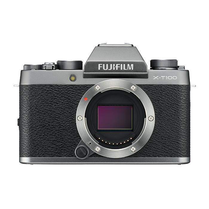 《新品》 FUJIFILM (フジフイルム) X-T100 ボディ ダークシルバー[ ミラーレス一眼カメラ | デジタル一眼カメラ | デジタルカメラ ]【KK9N0D18P】【発売記念キャンペーン対象】