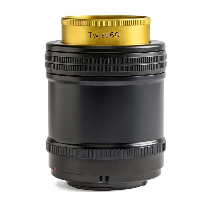 《新品》 Lensbaby (レンズベビー) Twist 60 60mm F2.5 (ソニーE用/フルサイズ対応)【期間限定ハイテク レンズクロス Mサイズ プレゼント(8/31まで)[ Lens | 交換レンズ ]【KK9N0D18P】