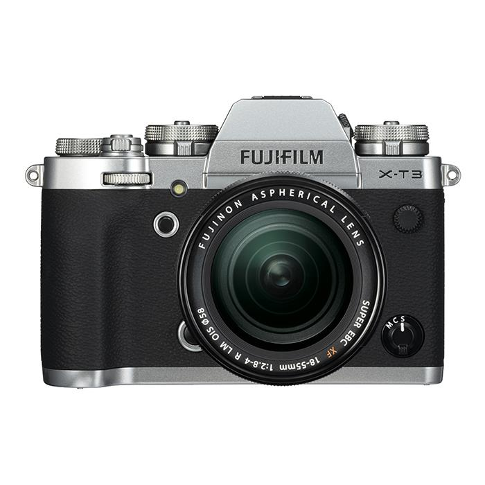 【あす楽】《新品》FUJIFILM (フジフイルム) X-T3 レンズキット シルバー[ ミラーレス一眼カメラ | デジタル一眼カメラ | デジタルカメラ ] 【KK9N0D18P】