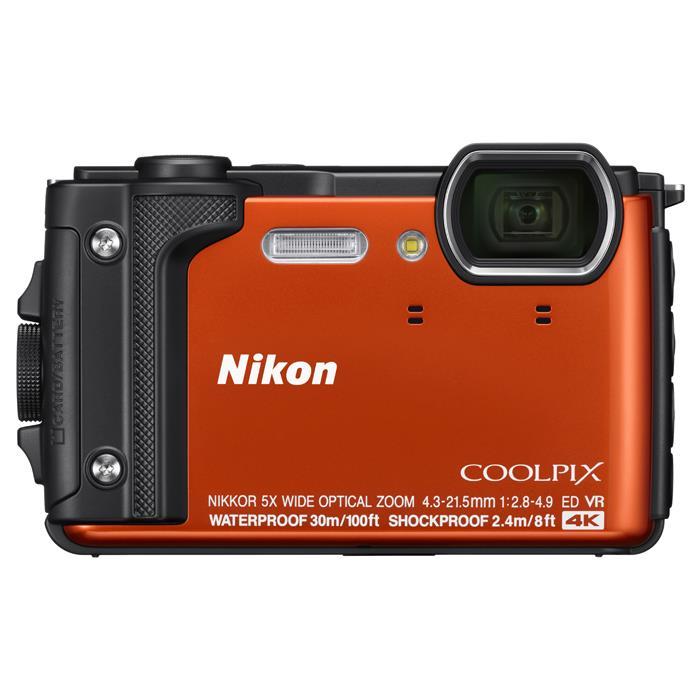《新品》 Nikon (ニコン) COOLPIX W300 オレンジ[ コンパクトデジタルカメラ ]【KK9N0D18P】※お一人様1点限り