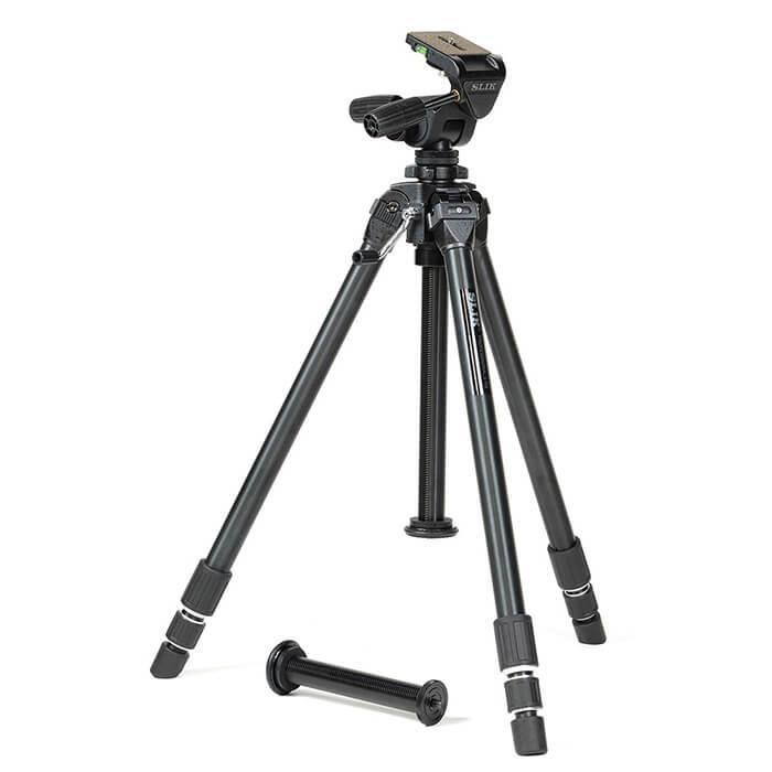 《新品アクセサリー》 SLIK (スリック) 大型アルミ3段三脚 プロフェッショナル2 NS 【MapCamera購入特典!メーカー保証2年付き】[最大パイプ径: 32mm / 最大耐荷重: 10kg ]【KK9N0D18P】