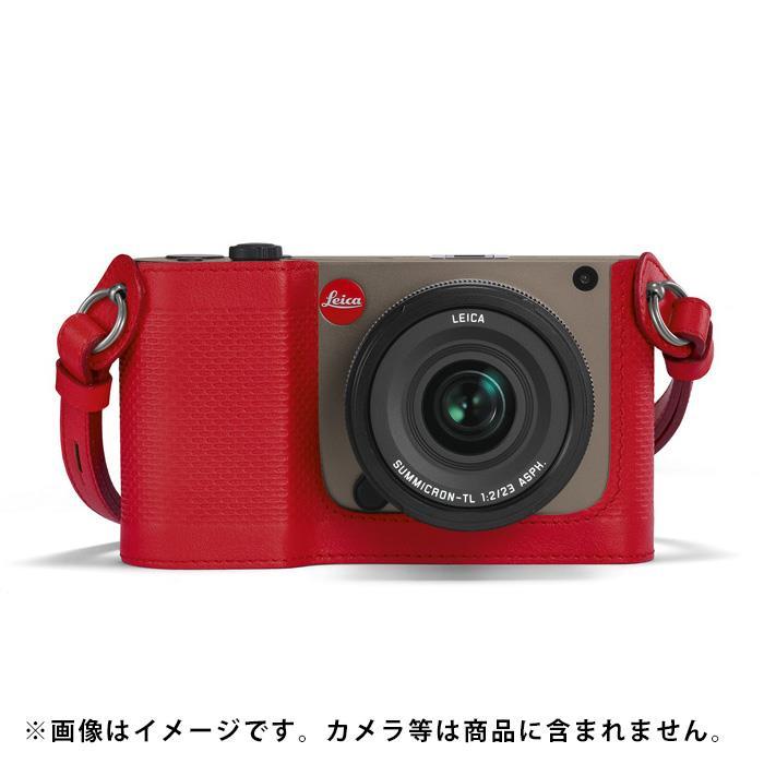 《新品アクセサリー》 Leica(ライカ) TL用プロテクター レッド【KK9N0D18P】