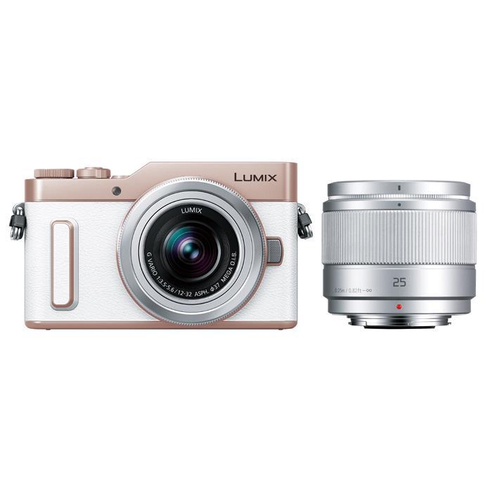 《新品》Panasonic (パナソニック) LUMIX DC-GF10W ダブルレンズキット ホワイト[ ミラーレス一眼カメラ | デジタル一眼カメラ | デジタルカメラ ]【KK9N0D18P】