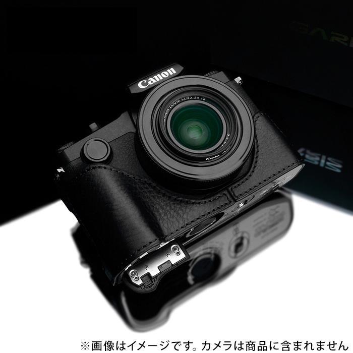 《新品アクセサリー》 GARIZ (ゲリズ) キヤノン PowerShot G1X Mark III用ケース XS-G1XM3BK ブラック【KK9N0D18P】