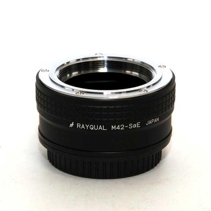 《新品アクセサリー》 RAYQUAL マウントアダプター M42レンズ/ソニーEボディ用 【フルサイズ対応】【KK9N0D18P】