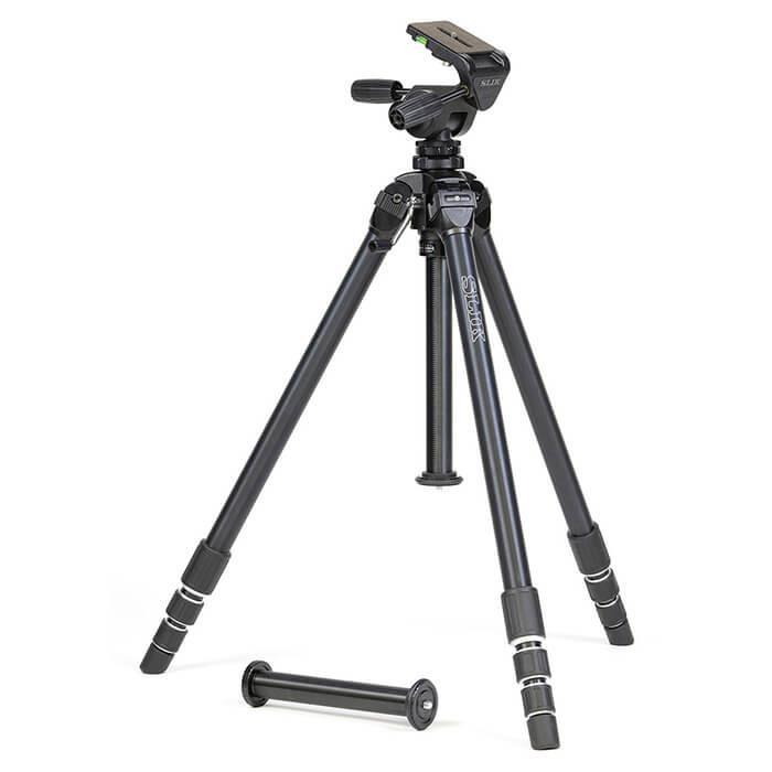 《新品アクセサリー》 SLIK (スリック) 超大型アルミ4段三脚 ザ プロフェッショナル4 NS 【MapCamera購入特典!メーカー保証2年付き】[最大パイプ径: 36mm / 最大耐荷重: 10kg ]【KK9N0D18P】