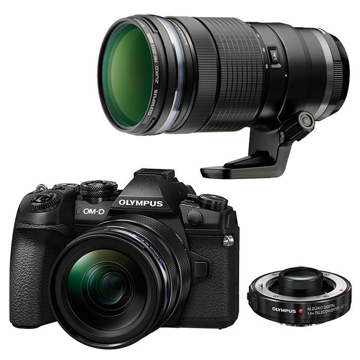 【あす楽】《新品》 OLYMPUS (オリンパス) OM-D E-M1 MarkII 12-40mm + 40-150mm F2.8 PROテレコンバ[ ミラーレス一眼カメラ   デジタル一眼カメラ   デジタルカメラ ] 【¥20,000-キャッシュバック対象】[マップカメラオリジナルセット]【KK9N0D18P】