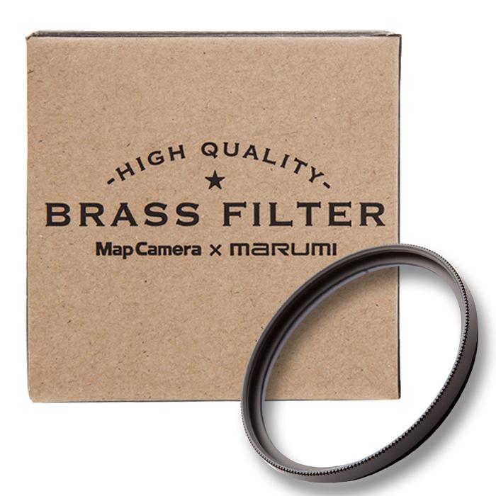 【あす楽】《新品アクセサリー》 MapCamera×marumi BRASS FILTER 82mm ブラック 【真鍮枠プロテクトフィルター】【特価品/在庫限り】【KK9N0D18P】