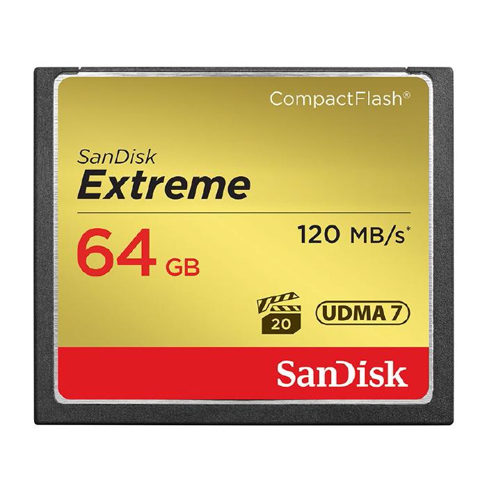 《新品アクセサリー》 SanDisk (サンディスク) Extreme CF 64GB SDCFXSB-064G-J61【KK9N0D18P】