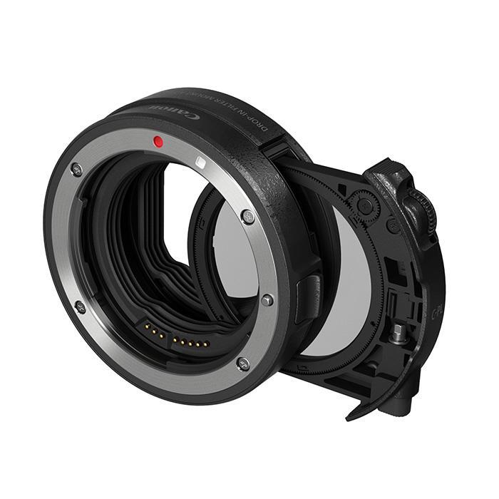 《新品アクセサリー》 Canon (キヤノン) ドロップインフィルターマウントアダプター EF-EOS R 円偏光フィルターA付発売予定日 :2019年2月下旬【KK9N0D18P】