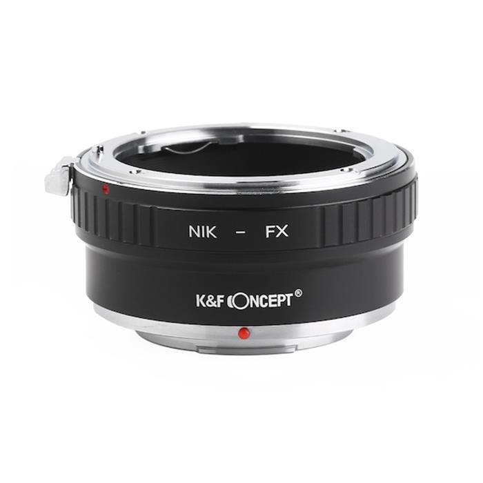 代引き手数料無料 《新品アクセサリー》 KF Concept 驚きの価格が実現 お得なキャンペーンを実施中 ケーアンドエフ コンセプト マウントアダプター KK9N0D18P 用 KF-NFX2 フジフイルムXボディ ニコンFレンズ