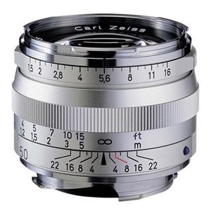 《新品》 Carl Zeiss(カールツァイス) C Sonnar T* 50mm F1.5 ZM(ライカM用) シルバー[ Lens | 交換レンズ ]〔レンズフード別売〕【KK9N0D18P】