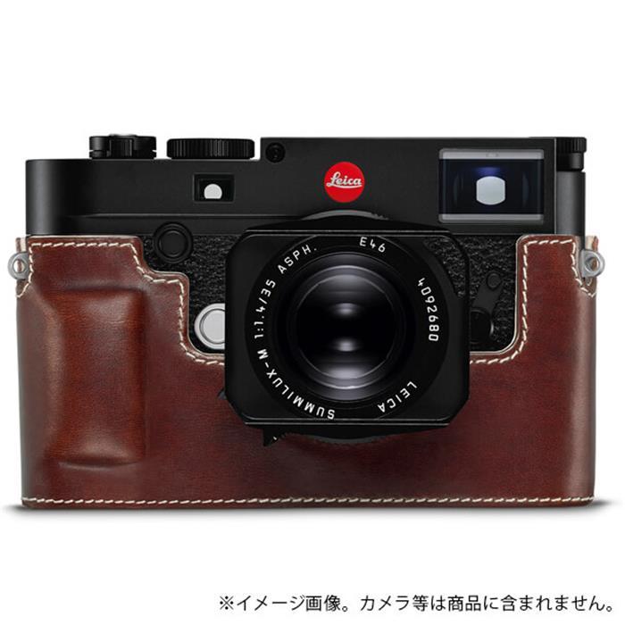 《新品アクセサリー》 Leica (ライカ) M10用 レザープロテクター ヴィンテージブラウン 対応機種: M10 【KK9N0D18P】
