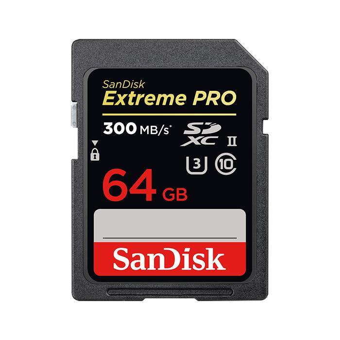 《新品アクセサリー》 SanDisk (サンディスク) ExtremePRO SDXCカード UHS-II 64GB SDSDXPK-064G-GN4IN 海外パッケージ版 【KK9N0D18P】