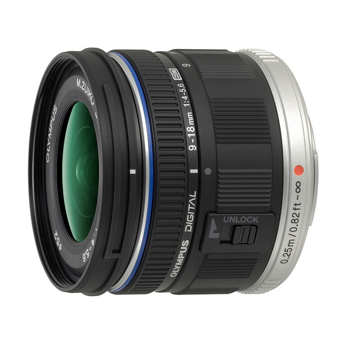 【あす楽】《新品》 OLYMPUS(オリンパス) M.ZUIKO DIGITAL ED9-18mmF4.0-5.6 (マイクロフォーサーズ)[ Lens | 交換レンズ ]〔レンズフード別売〕【KK9N0D18P】