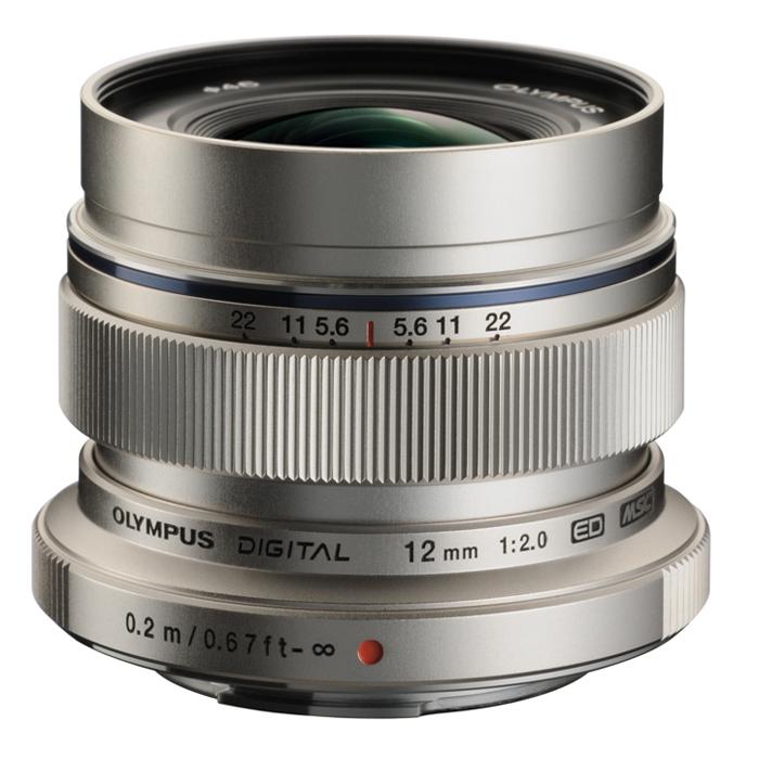 《新品》 OLYMPUS(オリンパス) M.ZUIKO DIGITAL ED 12mm F2.0 シルバー(マイクロフォーサーズ)[ Lens | 交換レンズ ]【KK9N0D18P】〔レンズフード別売〕