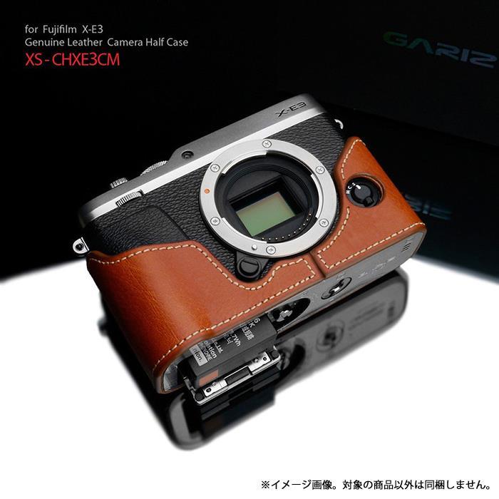 《新品アクセサリー》 GARIZ (ゲリズ) フジフイルム X-E3用ケース XS-CHXE3CM キャメル【KK9N0D18P】