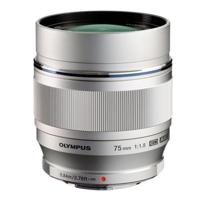 【あす楽】《新品》 OLYMPUS(オリンパス) M.ZUIKO DIGITAL ED 75mm F1.8 シルバー(マイクロフォーサーズ)[ Lens | 交換レンズ ]【KK9N0D18P】〔レンズフード別売〕