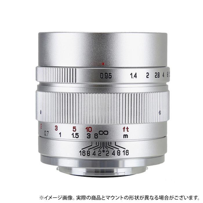 《新品》ZHONG YI OPTICAL SPEEDMASTER 35mm F0.95 II (EOS M用) シルバー[ Lens | 交換レンズ ]【KK9N0D18P】〔メーカー取寄品〕