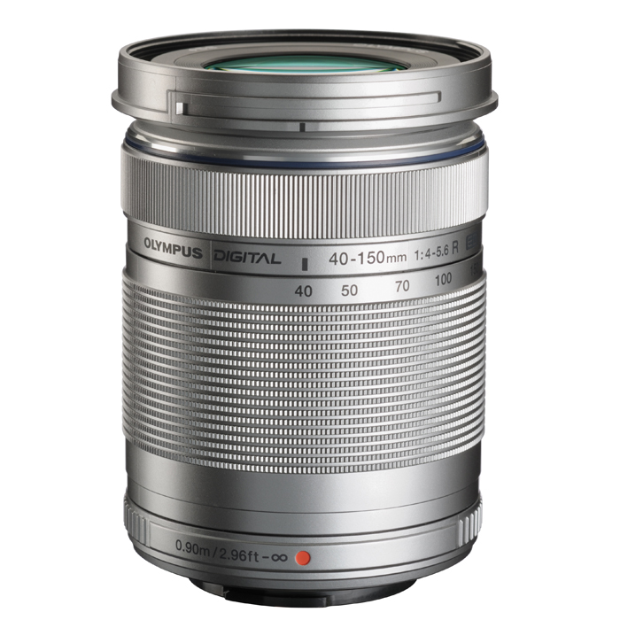 《新品》 OLYMPUS(オリンパス) M.ZUIKO DIGITAL 40-150mm F4.0-5.6R シルバー (マイクロフォーサーズ)[ Lens | 交換レンズ ]〔レンズフード別売〕【KK9N0D18P】