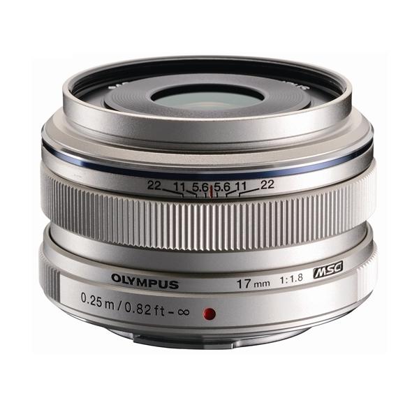 【あす楽】《新品》 OLYMPUS(オリンパス) M.ZUIKO DIGITAL 17mm F1.8 シルバー(マイクロフォーサーズ)【対象カメラを製品登録してレンズを購入すると¥5,000-キャッシュバック】〔レンズフード別売〕[ Lens | 交換レンズ ]【KK9N0D18P】