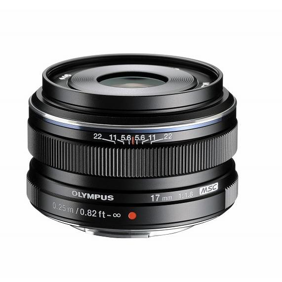《新品》 OLYMPUS(オリンパス) M.ZUIKO DIGITAL 17mm F1.8 ブラック(マイクロフォーサーズ)〔レンズフード別売〕[ Lens | 交換レンズ ]【KK9N0D18P】