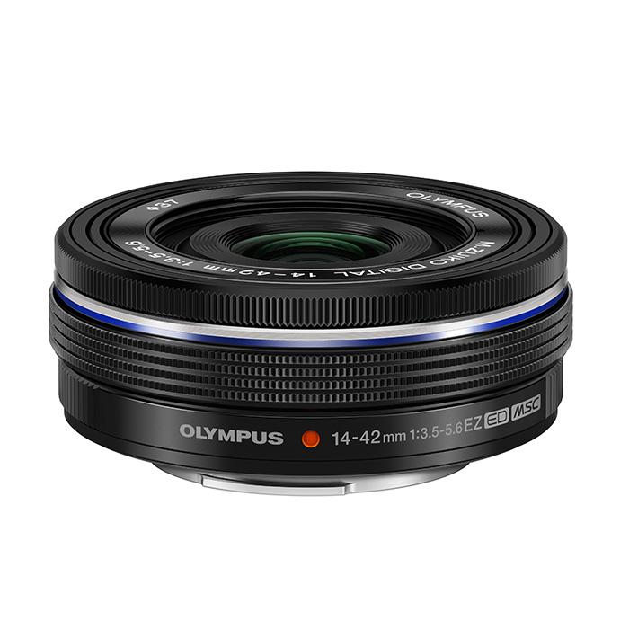 《新品》 OLYMPUS(オリンパス) M.ZUIKO DIGITAL ED 14-42mm F3.5-5.6 EZ ブラック [ Lens | 交換レンズ ]【KK9N0D18P】