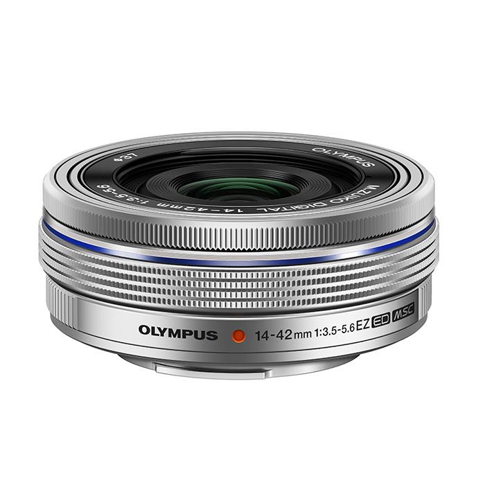 《新品》 OLYMPUS(オリンパス) M.ZUIKO DIGITAL ED 14-42mm F3.5-5.6 EZ シルバー [ Lens   交換レンズ ]【KK9N0D18P】
