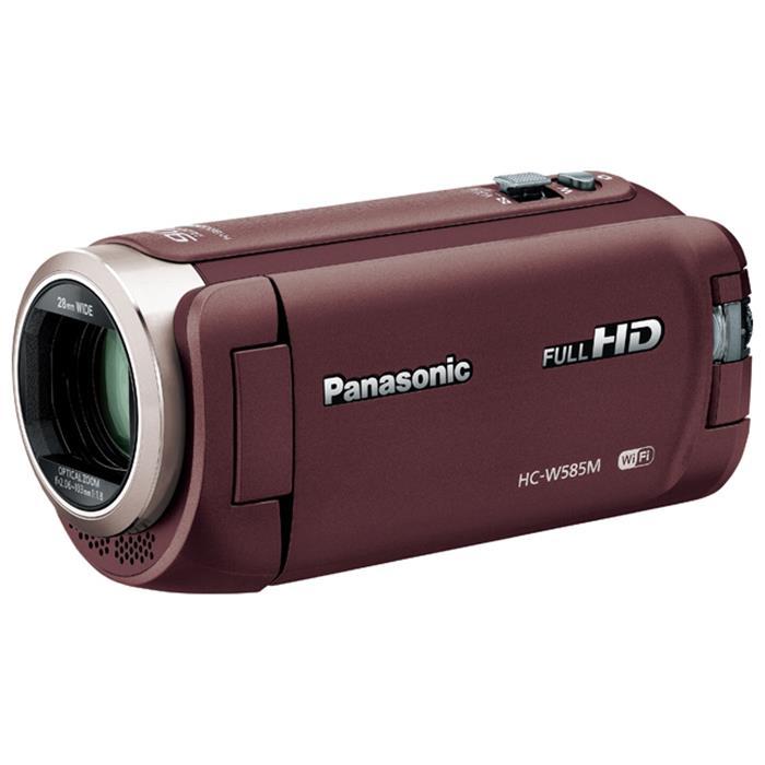 《新品》 Panasonic (パナソニック) デジタルハイビジョンビデオカメラ HC-W585M-T ブラウン[ ビデオカメラ ]【KK9N0D18P】