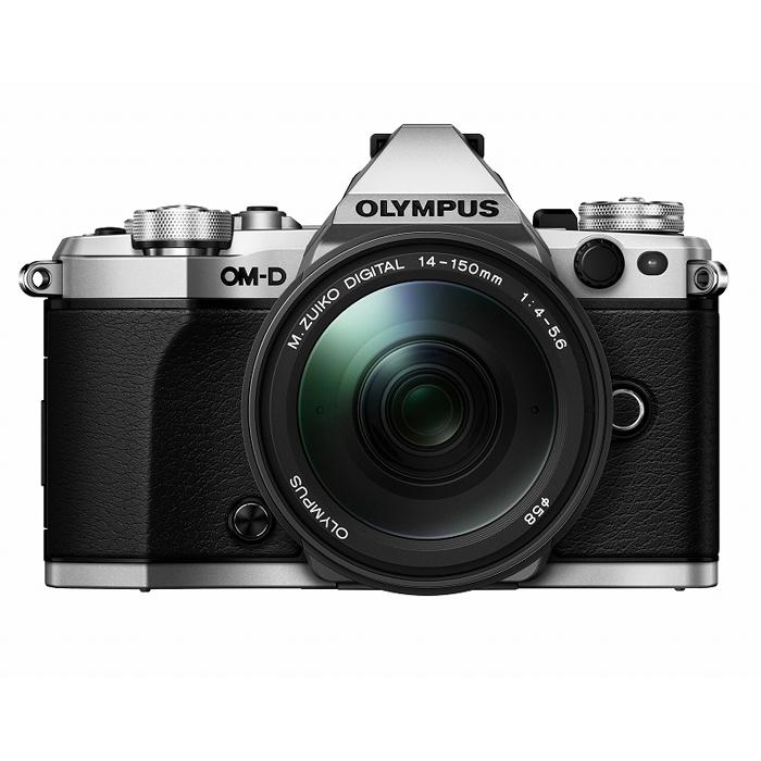 【あす楽】《新品》 OLYMPUS (オリンパス) OM-D E-M5 MarkII 14-150mmIIレンズキット シルバー[ ミラーレス一眼カメラ | デジタル一眼カメラ | デジタルカメラ ]【KK9N0D18P】