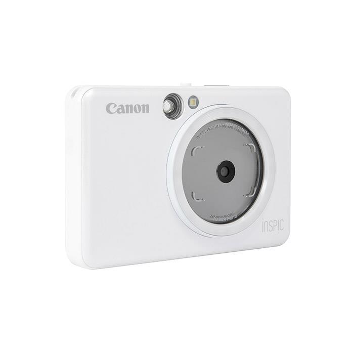 《新品》 Canon (キヤノン) iNSPiC ZV-123 パールホワイト【KK9N0D18P】