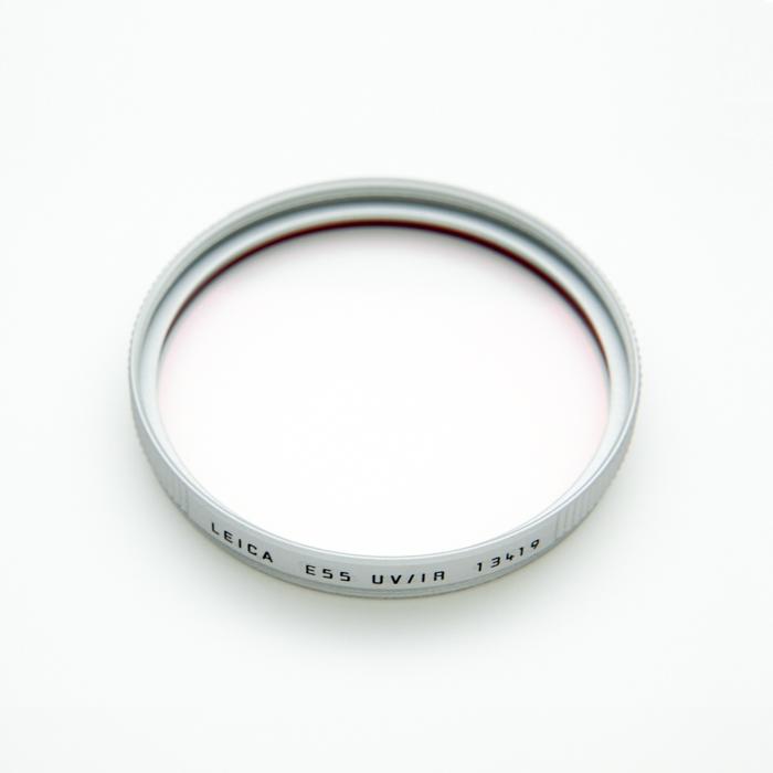 《新品アクセサリー》 Leica(ライカ) フィルター E55 UV/IR 【13419】 シルバー【KK9N0D18P】