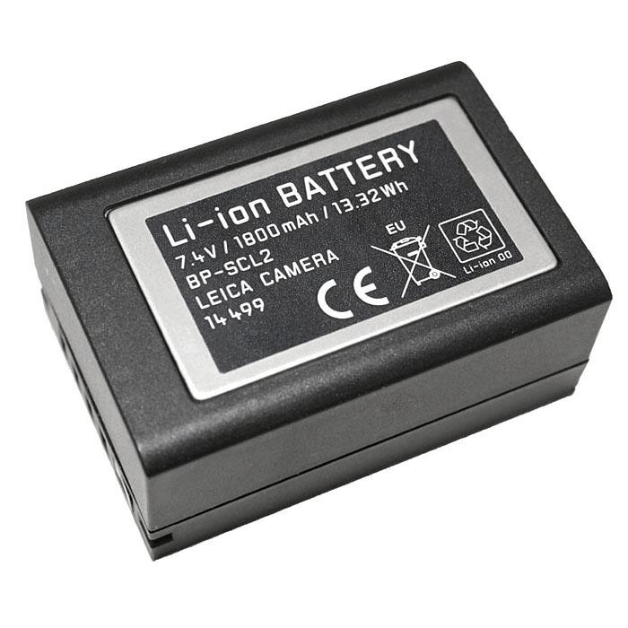 《新品アクセサリー》 Leica (ライカ) リチウムイオンバッテリー BP-SCL2 (対応機種: M(Typ240)、M-P(Typ240)、M(Typ262)、M-D(Typ262)、Mモノクローム(Typ246) )【KK9N0D18P】