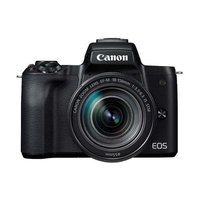 《新品》 Canon (キヤノン) EOS Kiss M EF-M18-150 IS STM レンズキット ブラック【¥10,000-キャッシュバック対象】[ ミラーレス一眼カメラ | デジタル一眼カメラ | デジタルカメラ ]【KK9N0D18P】