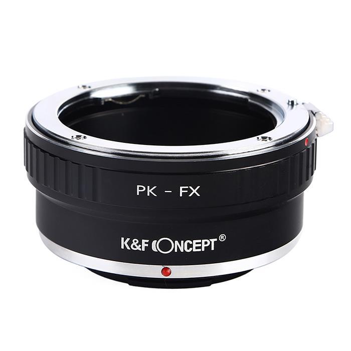 代引き手数料無料 《新品アクセサリー》KF Concept ケーアンドエフ 受賞店 高級な コンセプト マウントアダプター KK9N0D18P KF-PKX ペンタックスKレンズ フジフイルムXボディ用