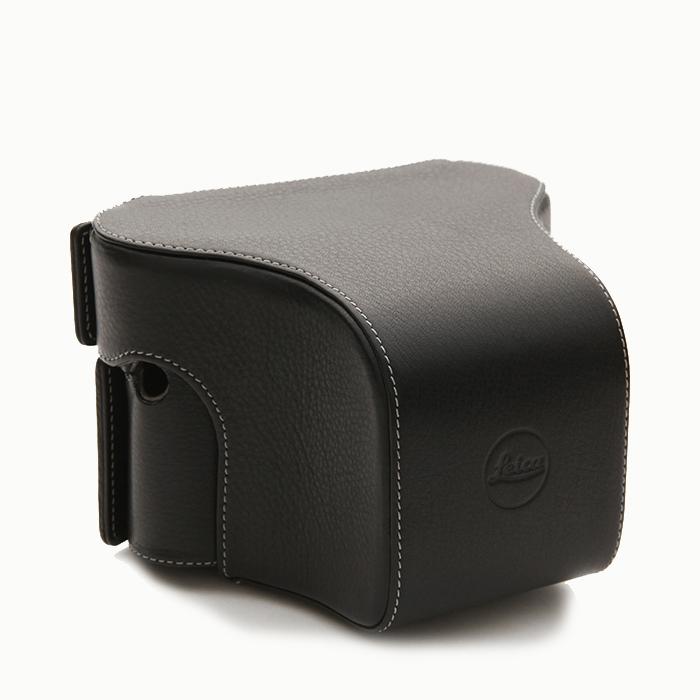 《新品アクセサリー》 Leica(ライカ) M/M-P用速写ケース ショートノーズ ブラック【KK9N0D18P】