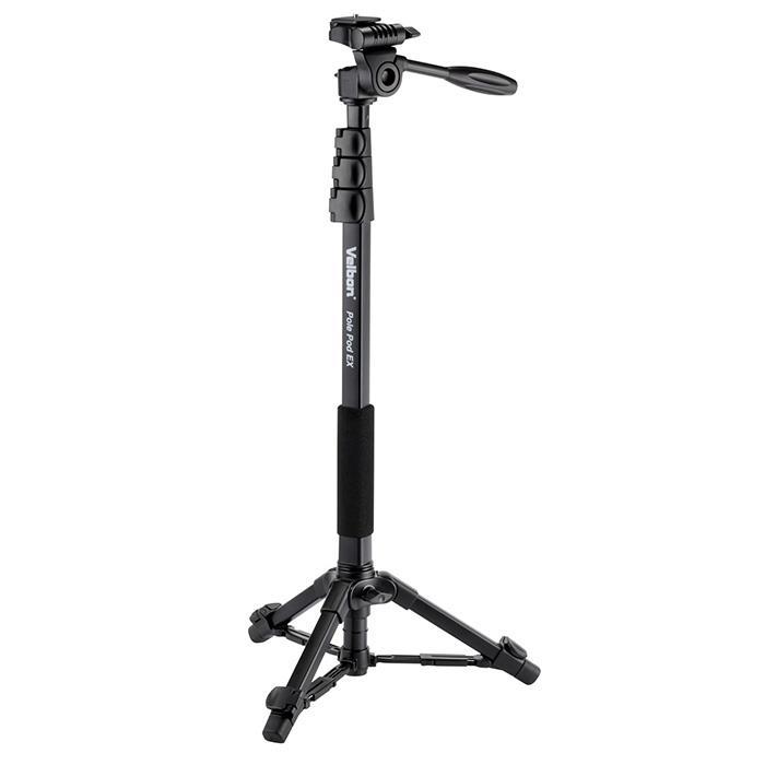 【あす楽】《新品アクセサリー》 Velbon (ベルボン) 自立式4段アルミ一脚 Pole Pod EX【KK9N0D18P】