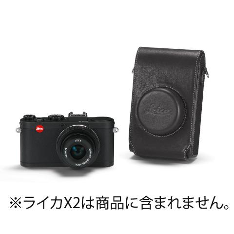 《新品アクセサリー》 Leica (ライカ) X2用 レザーケース ブラック【KK9N0D18P】