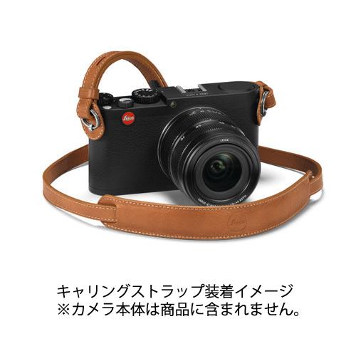 《新品アクセサリー》 Leica(ライカ) X/M用キャリングストラップ コニャック【KK9N0D18P】