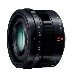 《新品》 Panasonic(パナソニック) LEICA DG SUMMILUX 15mm F1.7 ASPH. ブラック[ Lens | 交換レンズ ]【ボディ同時購入でキャッシュバック対象】【KK9N0D18P】