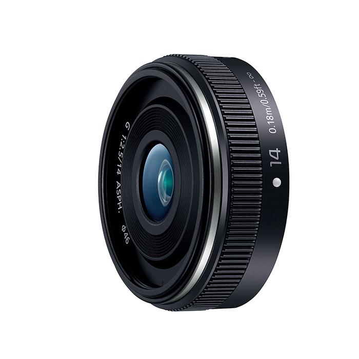 《新品》 Panasonic(パナソニック) LUMIX G 14mm F2.5 II ASPH. H-H014A-K ブラック[ Lens | 交換レンズ ] 【KK9N0D18P】