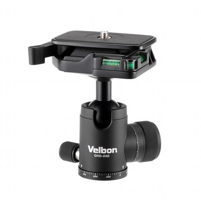《新品アクセサリー》 Velbon (ベルボン) ボールヘッド雲台 QHD-S5D【KK9N0D18P】 〔メーカー取寄品〕