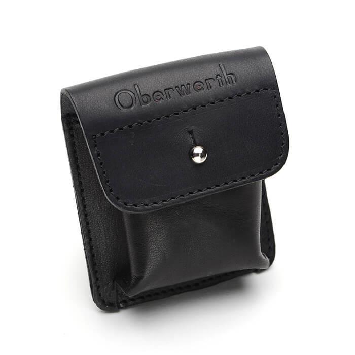 《新品アクセサリー》 Oberwerth (オーヴァーバース) レザーケース Furth ブラック 〔メーカー取寄品〕【KK9N0D18P】