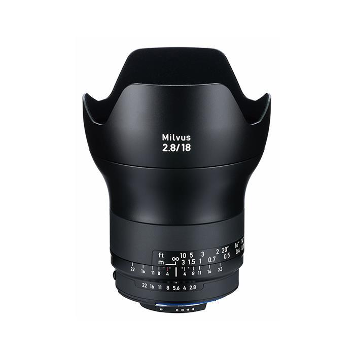 《新品》Carl Zeiss (カールツァイス) Milvus 18mm F2.8 ZF.2(ニコンF用)[ Lens | 交換レンズ ]【KK9N0D18P】