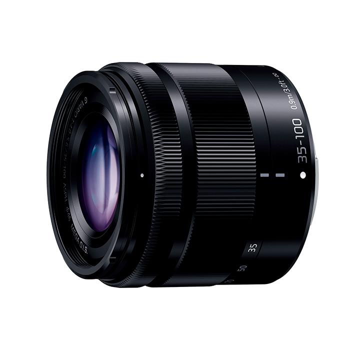 《新品》 Panasonic(パナソニック) LUMIX G VARIO 35-100mm F4.0-5.6 ASPH./MEGA O.I.S. H-FS35100-K ブラック[ Lens | 交換レンズ ]【KK9N0D18P】【ボディ同時購入でキャッシュバック対象】