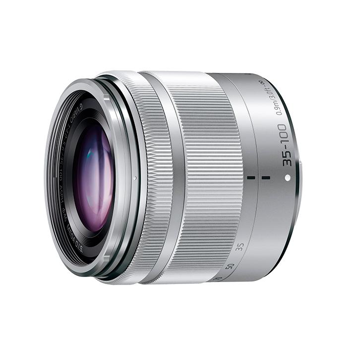 《新品》 Panasonic(パナソニック) LUMIX G VARIO 35-100mm F4.0-5.6 ASPH./MEGA O.I.S. H-FS35100-S シルバー[ Lens | 交換レンズ ]【KK9N0D18P】【ボディ同時購入でキャッシュバック対象】