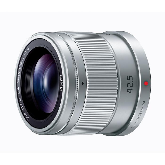 《新品》 Panasonic (パナソニック) LUMIX G 42.5mm F1.7 ASPH. POWER O.I.S. シルバー (マイクロフォーサーズ)[ Lens | 交換レンズ ]【KK9N0D18P】