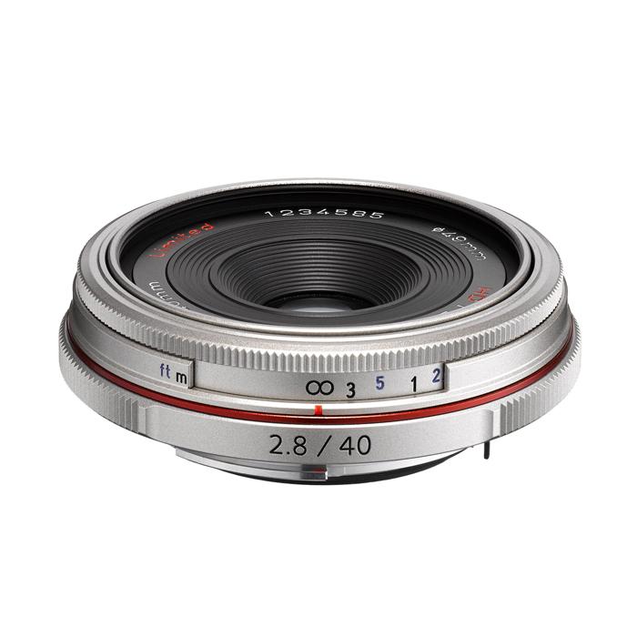 《新品》 PENTAX(ペンタックス) HD DA40mm F2.8 Limited シルバー[ Lens | 交換レンズ ]【KK9N0D18P】